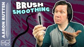 Does Using BRUSH SMOOTHING Hold You Back? - #DigitalArt