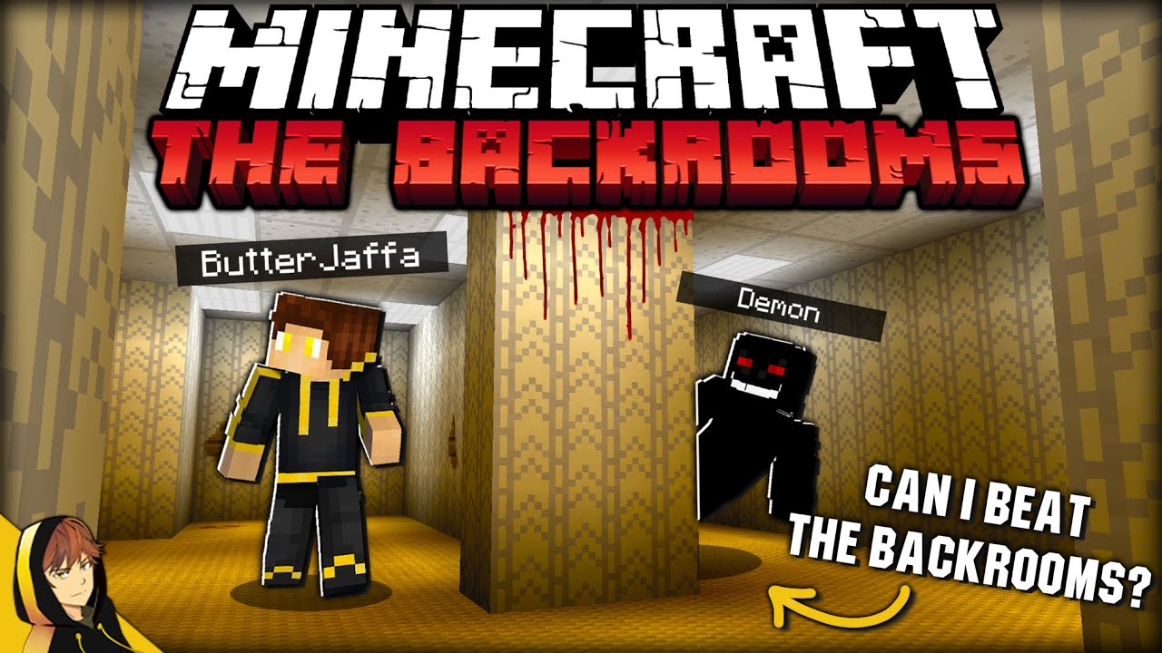 BEATING MINECRAFT WITH THE SCARIEST MOD!! | The Backrooms – Minecraft [1.16.5 Fabric Mod]