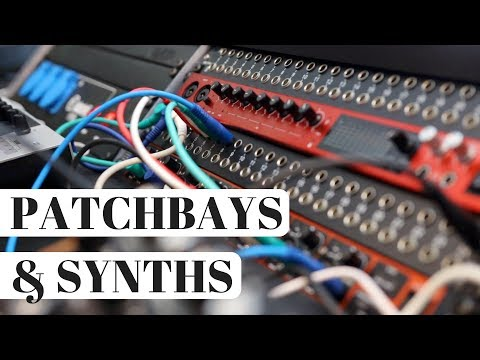 How I Use Patchbays in My Synth Studio – The PERFECT Home Studio? Ep. 3