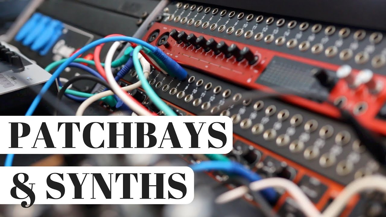 How I Use Patchbays in My Synth Studio – The PERFECT Home Studio? Neutrik Patchbay Wiring Diagram on