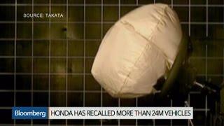 Honda Recalls Another 4.5M Cars for Takata Air Bags