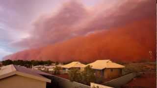 Apocalyptic! DUST STORM ravage AUSTRALIA after