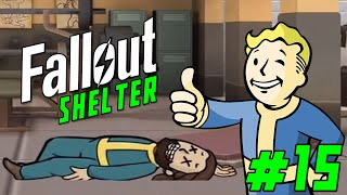 "FALLOUT SHELTER Gameplay Part 15 - ""I SEE DEAD PEOPLE!!!""  (iOS/iPhone/iPad gameplay)"