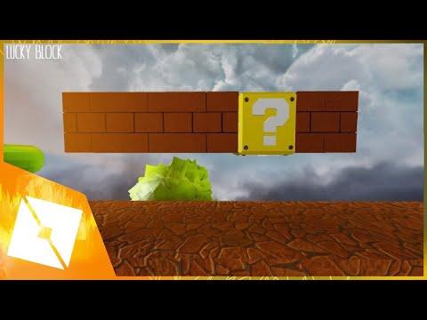 ROBLOX Studio | [SpeedBuild] Mario Lucky Block