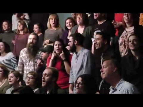 Flash Chorus sings Can't Feel My Face by The Weeknd - YouTube