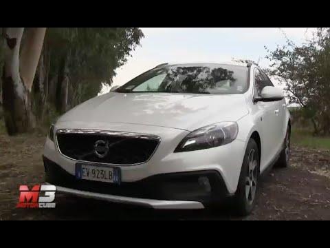 VOLVO V40 D2 CROSS COUNTRY OCEAN RACE 2015 - TEST DRIVE - YouTube