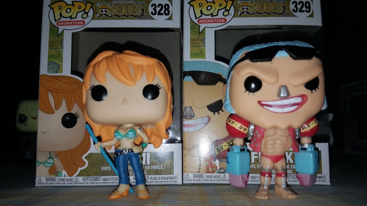 televisión Franky One Piece Figura de vinilo Pop