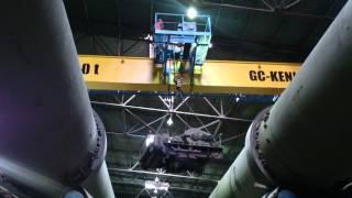видео Кран мостовой 20 5, кран мостовой 20 т, мостовой кран 20 тонн, мостовой кран 20т, мостовой кран грузоподъёмностью 20 тонн.