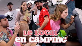 ON INSTALLE UN CAMPING AU LOCAL #1