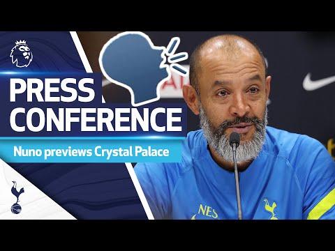 Nuno Espirito Santo talks about clash with the Eagles |  Crystal Palace v Spurs