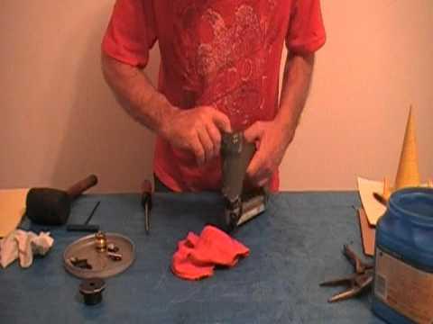 Rebuilding Senco Model L Stapler Youtube