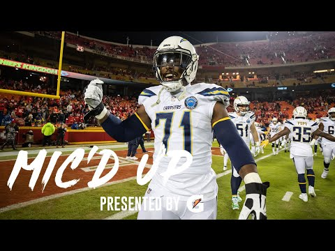 Mic'd Up: Damion Square Vs. Chiefs