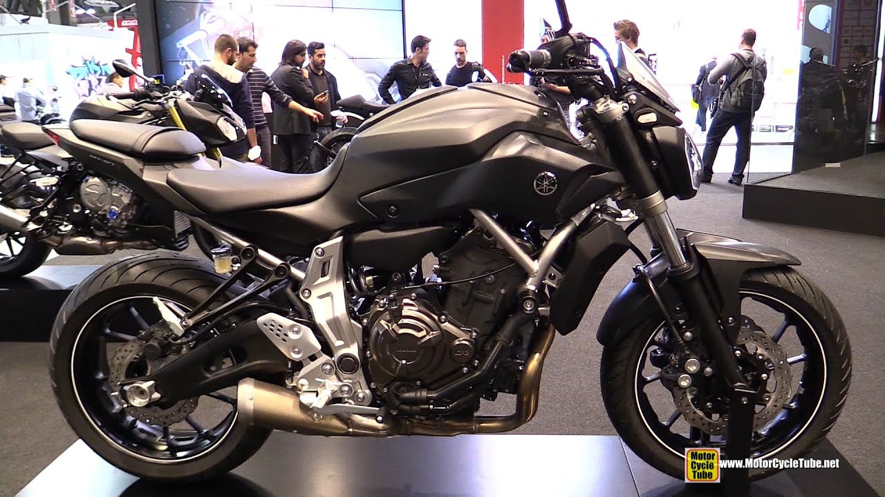 2015 Yamaha MT 07 Rizoma Customized