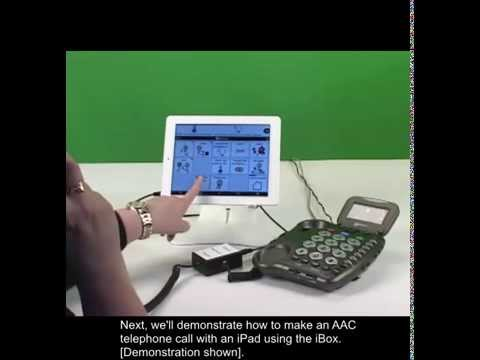 iBox: Using the iBox & an AAC App to Make a Phone Call