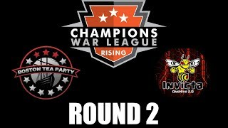 BostonTeaParty VS OneHive Invicta - CHAMPIONS WAR LEAGUE - Clash of Clans