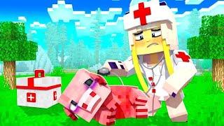 UNSER SCHWEIN ist KRANK und braucht HILFE! ✿ Minecraft HAUS [Deutsch/HD]