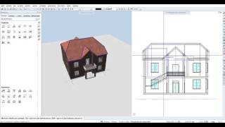Видео урок по программе Allplan 2015 (6 Разрезы и фасады)