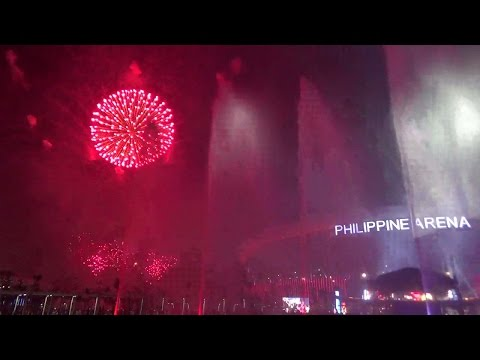 Philippine Arena's 2015 New year's eve countdown
