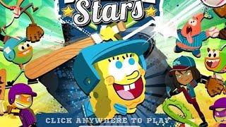 SpongeBob Baseball Stars (Никледион Бейсбол)