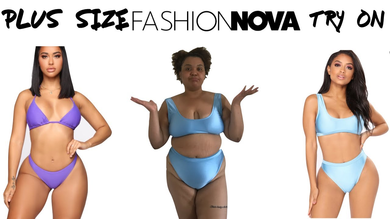 Fashion Nova Curve  Swimwear haul/try on 2019 , YouTube