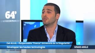 TV5MONDE : L'université de la Singularité arrive en France