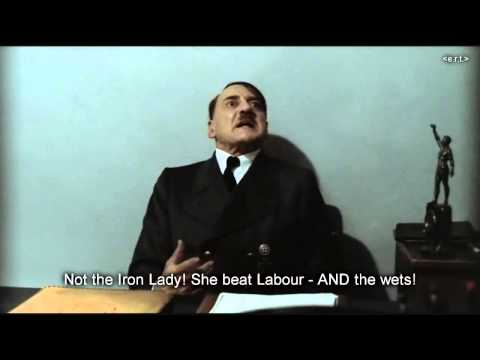 Hitler is informed that Margaret Thatcher has died