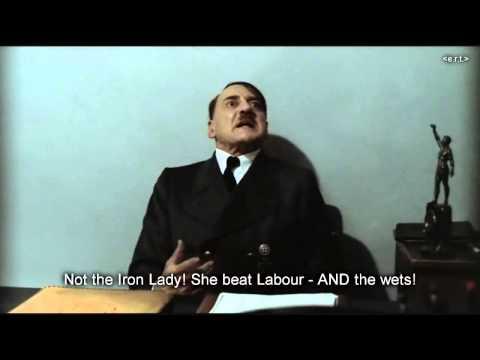 Hitler is informed that Margaret Thatcher has died