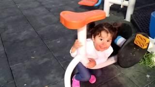 Ayşe Ebrar and Dad Pretend Play Hide And Seek at Park| Saklambaç | By Oyuncu Bebe TV