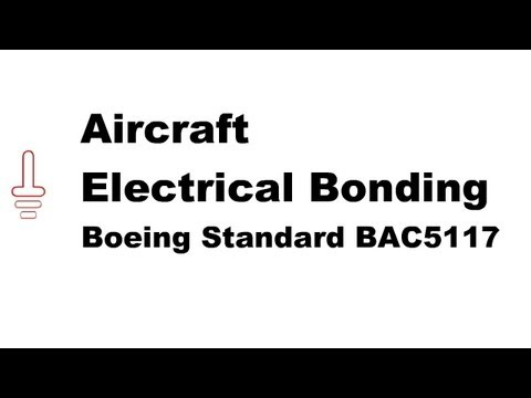 Aircraft Electrical Bonding to Boeing Standard BAC5117 - Online Certification Training