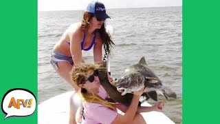 PHOTO Turned FISH SLAP! 😂 | Fails of the Week | AFV 2021
