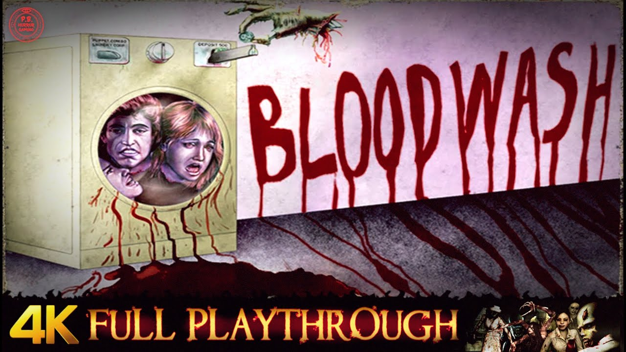 Bloodwash | Full Game | Gameplay Walkthrough (4K/60fps)