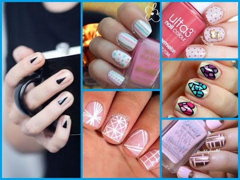 Delicieux 50+ Easy Nail Art Designs For Short Nails   Nail Art Ideas 2017
