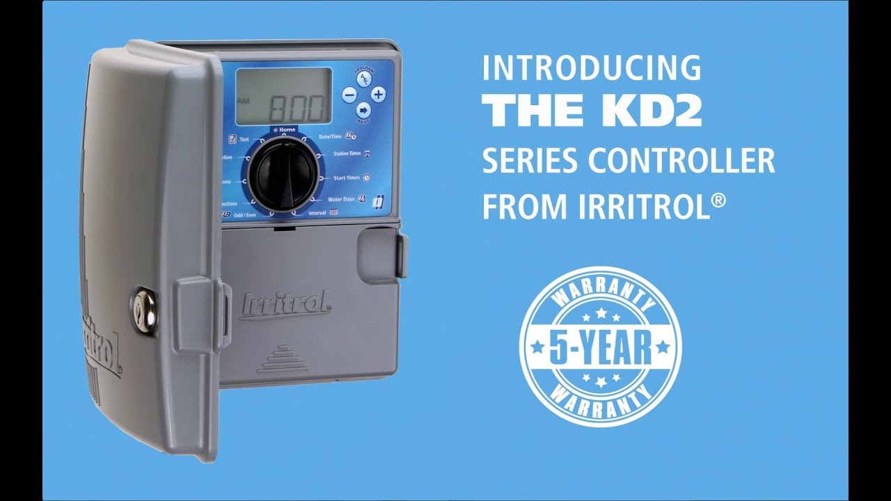 NEW! Irritrol® KD2 Irrigation Controller