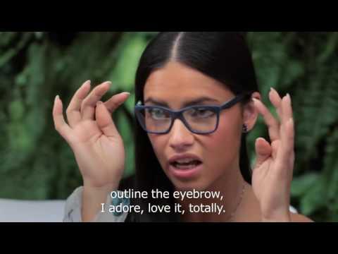 Niina Secrets Interview Adriana Lima At Vogue Eyewear Live Stream March 18, 2015