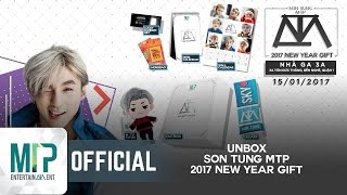 UNBOXING 2017 NEW YEAR GIFT | SƠN TÙNG M-TP