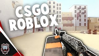 CSGO IN ROBLOX?!?! | Crazy Come Back! (Ft. Geminii)