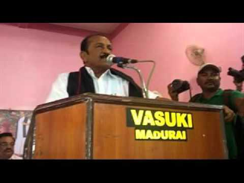 Vaiko speech in Madurai party activist meeting on 06-01-2016
