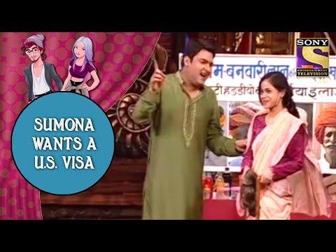 Sumona Wants A U.S.Visa From Kapil - Jodi Kamaal Ki