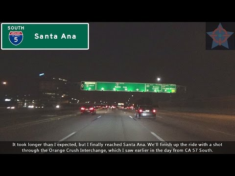 (S06 EP12) I-5 South, East L.A. to Santa Ana