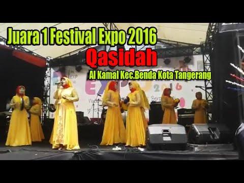 Juara 1 Festival Expo 2016 Qasidah IBU YASIN al kamal kec.Benda kota tangerang