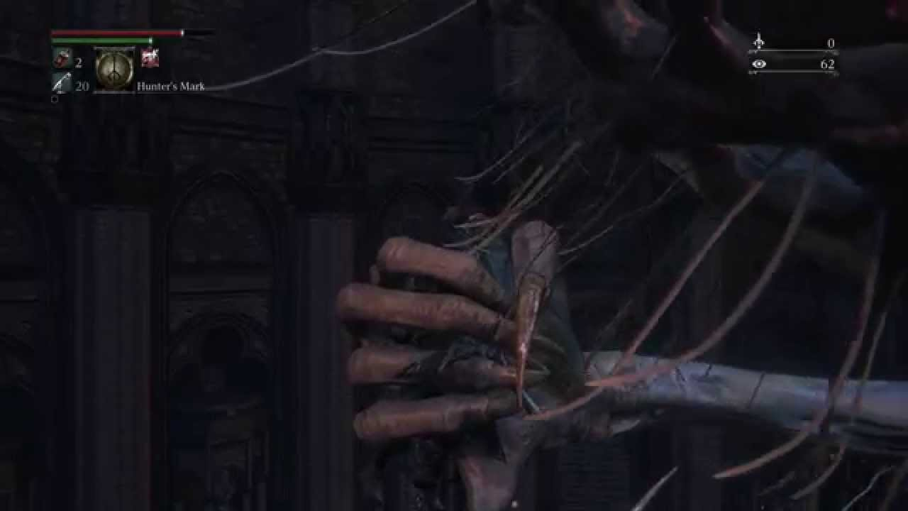bloodborne optional boss guide how to unlock and locate amygdala