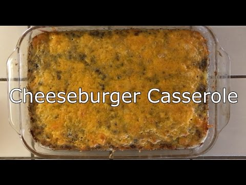 Keto Recipe (Low Carb): Bacon Cheeseburger Casserole