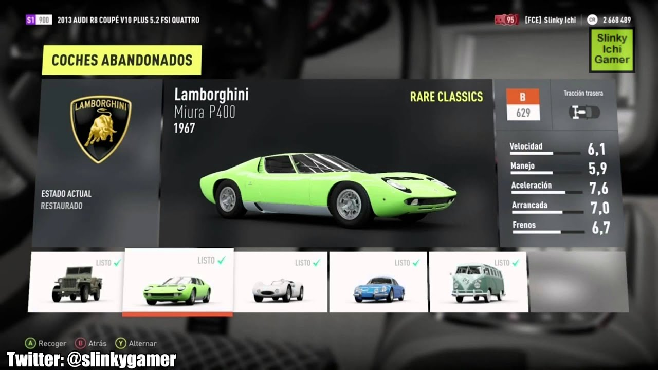 forza horizon 2 xbox one los 10 coches abandonados the 10 abandoned cars youtube. Black Bedroom Furniture Sets. Home Design Ideas
