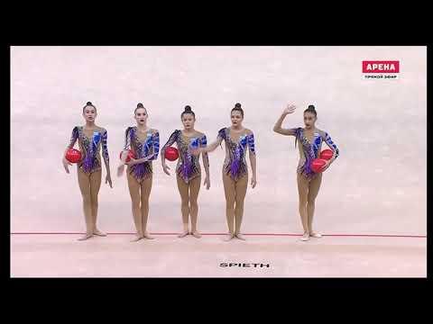 ЧМ 2019  Баку  Узбекистан  Многоборье  5 мячей