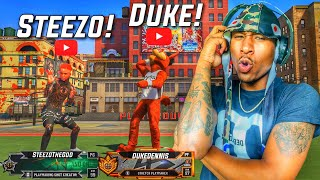 Duke Dennis And Steezo The God is the NEW DEMIGOD DUO On NBA 2K20! ALL ISO! BEST BUILD 2K20! DEMIGOD