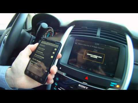 2012 Ford Edge Sync Phone System