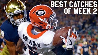 Best Catches of Week 2  College Football Highlights 2017