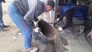 """Экспресс ремонт ( 6 часов и готово ) - Промышленного бетонного пола """"топпинг""""."""