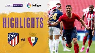 Atletico Madrid 2-1 Osasuna   LaLiga 20/21 Match Highlights