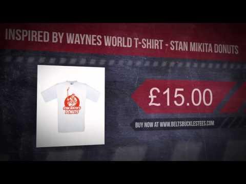 Inspired By Waynes World T-Shirt - Stan Mikita Donuts